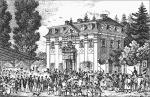 Vieh- und Pferdemarkt am Schießhaus 1837