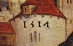 Flein, St. Veits-Altar, Detail aus dem rechten Seitenflügel