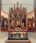 Der Altar in der Fleiner Kirche (Fotosammlung Heimatverein Flein)